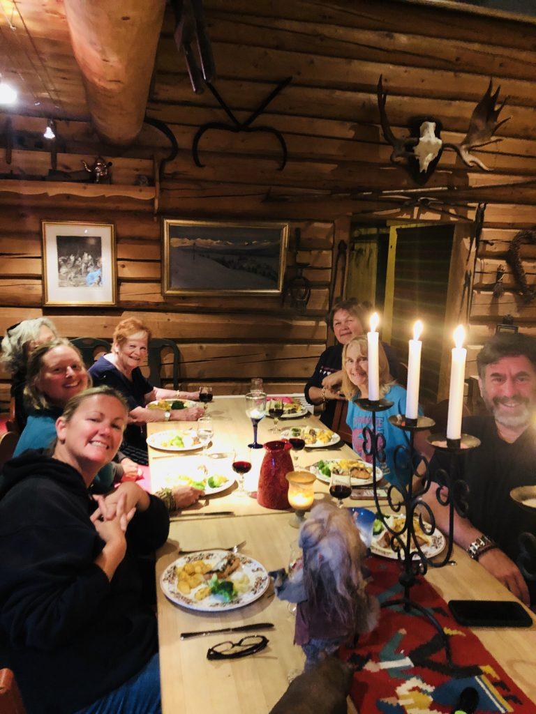 Log Cabin Dinner