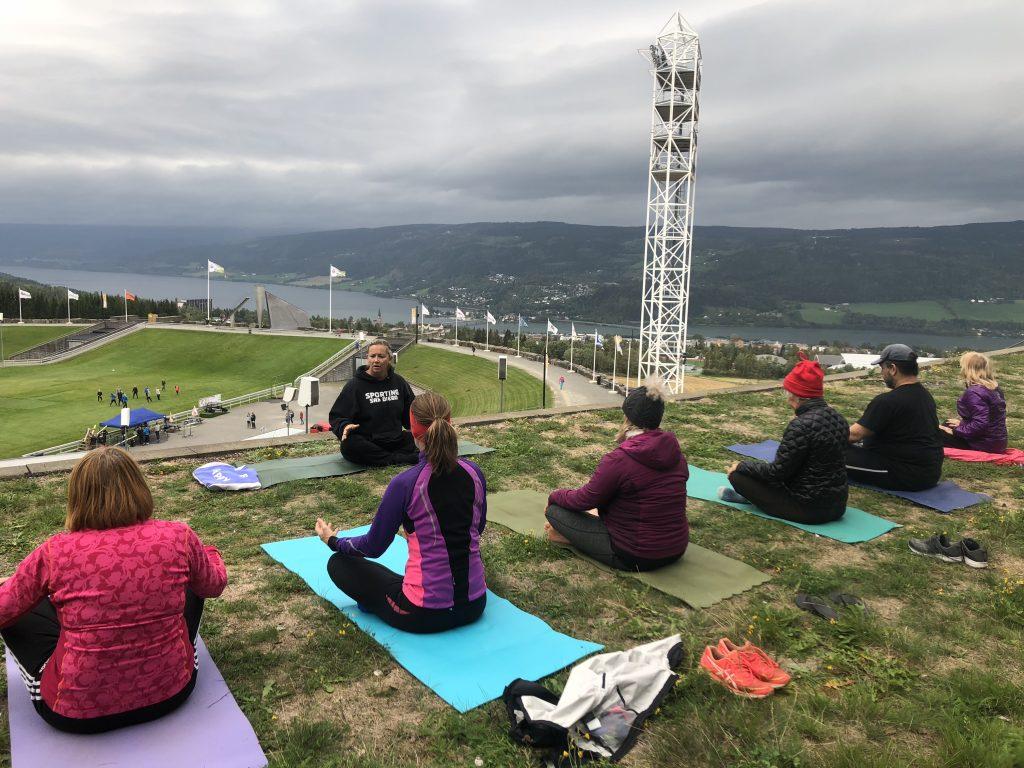 Lillehammer Ski Jump Yoga