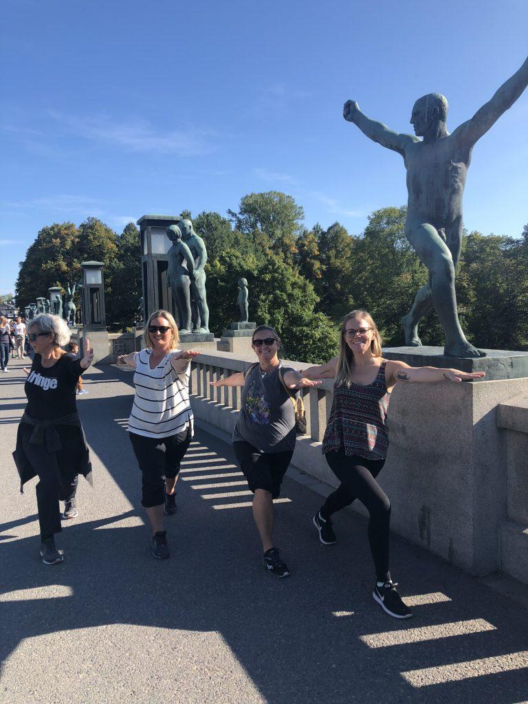 Vigeland Park Yoga